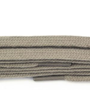 Taupe Fine Flat Laces