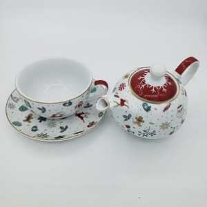 Christmas Greeting Tea For One Teapot & Cup - 20191006 151833 res