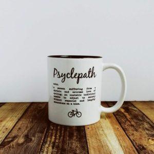 Cycling Gift – Psyclepath – Ceramic Mug