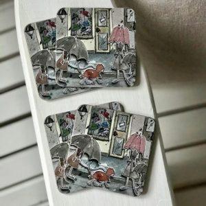 Square Coasters Karlaplan pack of 6 - 2CF55769 EA78 4203 8A14 1D643C5C493C 500x500