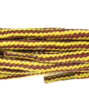 Kicker Light Tan/Yellow 75cm Laces