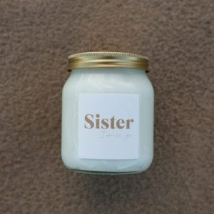 Sister I Miss You Soy Candle – 345 ml