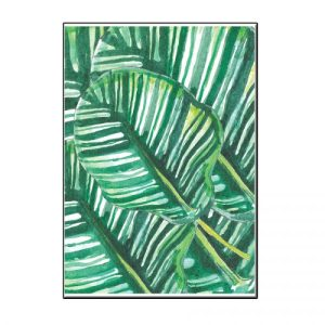 A6 JUNGLE LEAF CARD