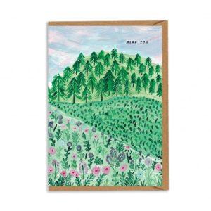 Miss You Greeting Card - CHMY001 500x500