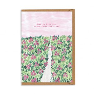 Happy Valentine's Day Greeting Card - CHVD002 500x500