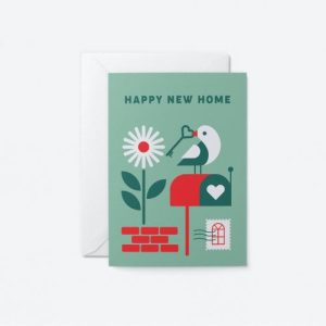 New Home Bird Greeting Card