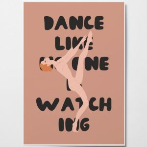Dance Like No One is Watching (Red Hair)