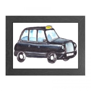 A4 FRAMED POSTER TAXI