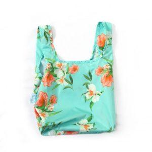 MINI Floral Reusable Shopping Bag
