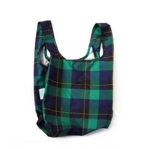 Mini Tartan Reusable Shopping Bag