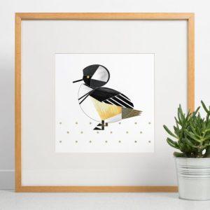 Hooded Merganser Duck Giclee Print - Hooded Merganser print 500x500