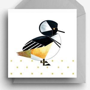 Hooded Merganser Duck Greetings Card - HoodedMerganser card 500x500