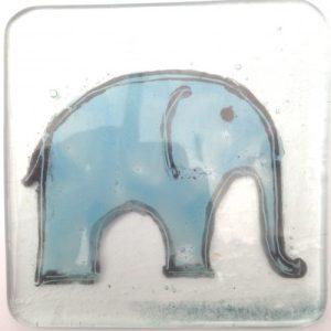 Blue Elephant Coaster