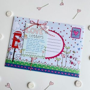 Flossy Teacake Valentines Day Love Letter Kit - Love Leter 2 500x500