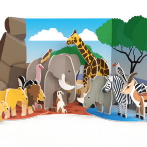 Savannah Animals - M0014 PlayPress Savannah Animals Playset 500x500