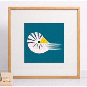 Nautilus Giclee Print - Nautilus print 500x500