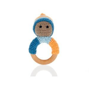 Pixie wooden ring - petrol blue - Pixie wooden ring – petrol blue 500x500