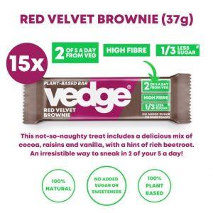 Red Velvet Brownie (15 x 37g)