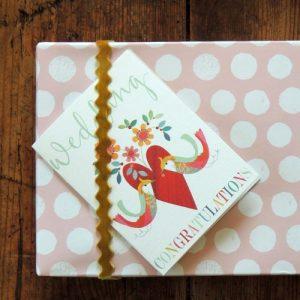 TW55 mini wedding card