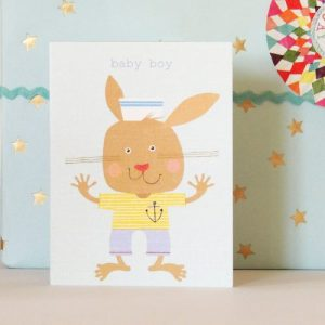 TW62 mini baby boy card