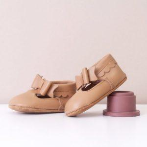 Winnie Tan Bow Moccasins Girls Shoes - WINNIE TAN BOWMOCCASINSHOE 2 1024x1024@2x 500x500