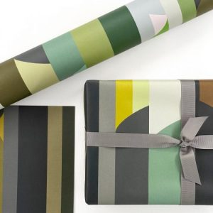 ABSTRACT GIFT WRAP unit of 25