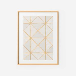 Abstract Wall Art Print 5 - contemporary geometric art pattern wall art bedroom prints 500x500