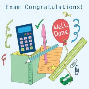 Occasions Exam Congratulations greeting card