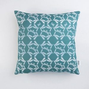 Cushion Cover Dragonfly Water | Pure Italy Hand made