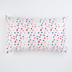 Cushion cover Pois Rectangular | Pure Italy Hand made