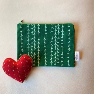 Pochette Tree Collection Xmas – Green | Pure Italy Hand made