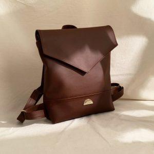 Lena Vegan Leather Backpack - lena choc3 1024x1024@2x 500x500