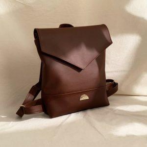 Lena Vegan Leather Backpack