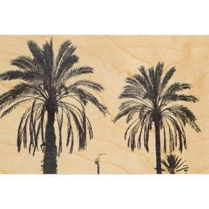 "Wood postcard ""Palm"""