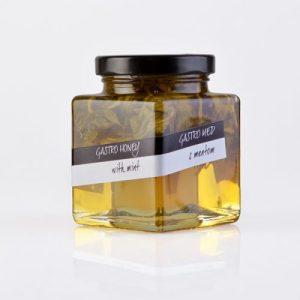 Gourmet honey with mint, 230 g - rp gastroMenta1 500x500