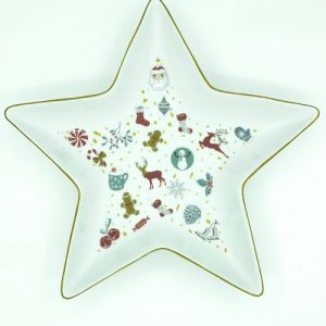 Christmas Greeting Star Shaped Tray - st 2 1 scaled 1 500x500
