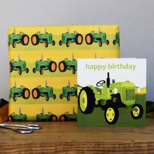 Old Tractors Gift Wrap – 25 sheets