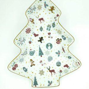Christmas Greeting Tree Shaped Tray (Large) - tt 3 scaled 1 500x500