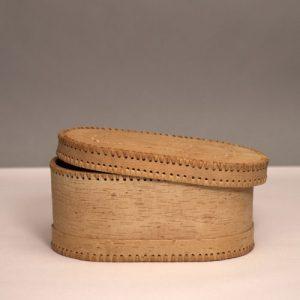 Single Bread Bin - 01 Brotkasten aus Birkenrinde Single Birch Bark Bread Bin B11 sagaan 500x500