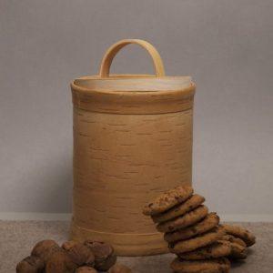 Cereal Container - 02 Muslidose aus Birkenrinde Taiga birch bark box cereal container D14 sagaan 500x500