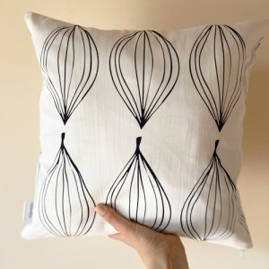 Cushion Cover Leaf | Pure Italy Hand made - 1 14