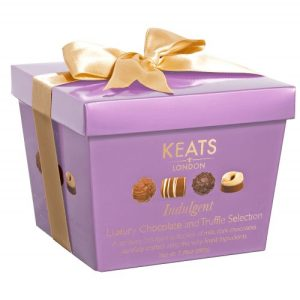 Keats Special Chocolate Selection, Ribbon Box - 1229 second image 500x500