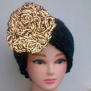 Headband with a trafficsafe reflexflower