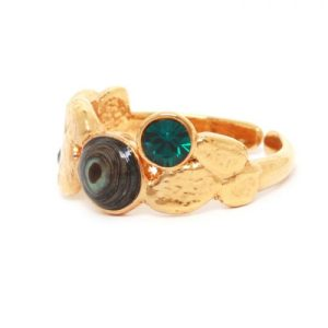 Becky green small ring, fits all - 19 62752 500x500