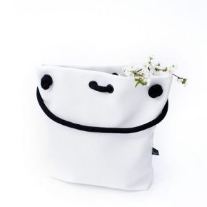 CLASSIC WHITE BAG-BACKPACK S size