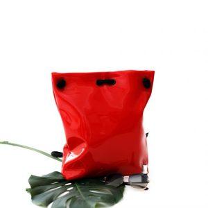 RED LACK BAG – BACKPACK S size