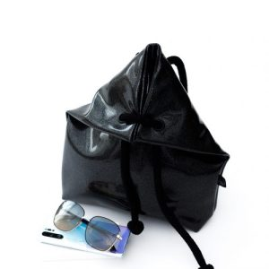 BLACK COSMO BAG-BACKPACK S size