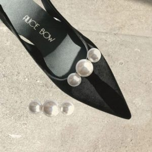 Three Pearl Shoe Clips – Case of 6