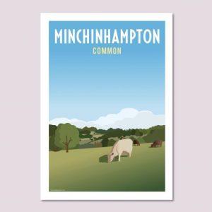Minchinhampton Common Poster
