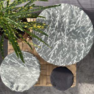 3 Reusable bowl Covers Grey - 3 bowl grey2 500x500
